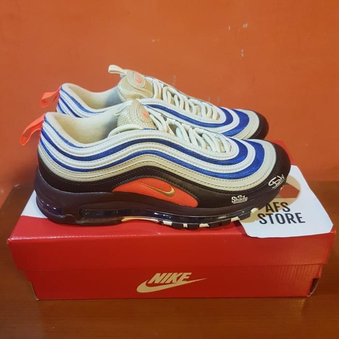 5dc8b44f7e Sepatu Nike Airmax 97 Eminem Shady Records Premium Original Sneakers