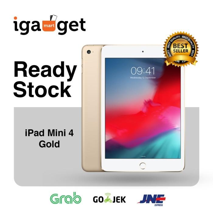 harga (new) apple ipad mini 4 gold wi-fi + cellular 128 gb 128gb Tokopedia.com