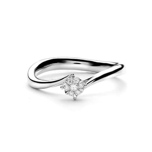 Lino and sons - cincin berlian f vvs (agatha diamond ring) - rosegold 13