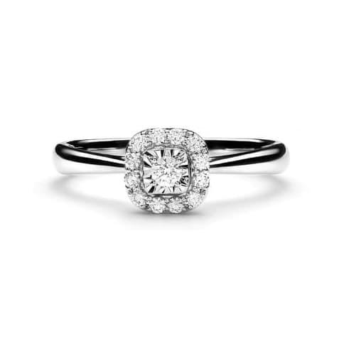 Lino and sons - cincin berlian f vvs (monanda diamond ring) - rosegold 12