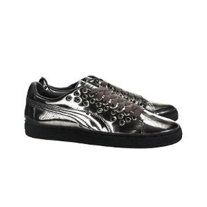 harga Sepatu puma basket xl lace metal lifestyle shoes women - 36453601 - perak 39 Tokopedia.com