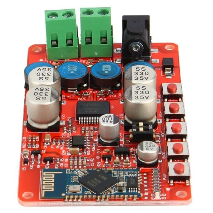 Bluetooth Power Amplifier Board 4W*2 Bluetooth 4.0 Stereo Audio Receiver Board