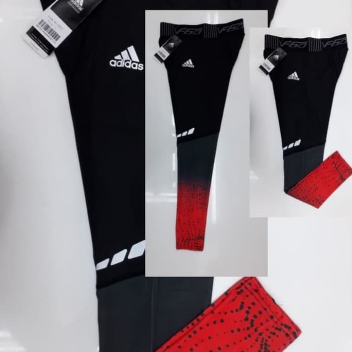 Jual Celana Legging Olahraga Pria Adidas Import Hitam Jakarta Barat Joy88 Sport Tokopedia