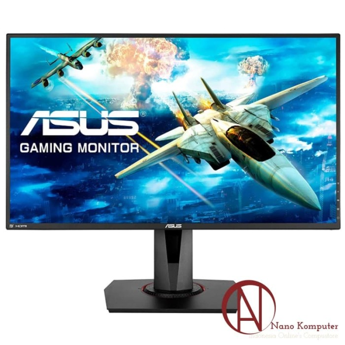 harga Asus gaming monitor vg278qr 27  fhd tn 165hz 0.5ms freesync / g-sync Tokopedia.com