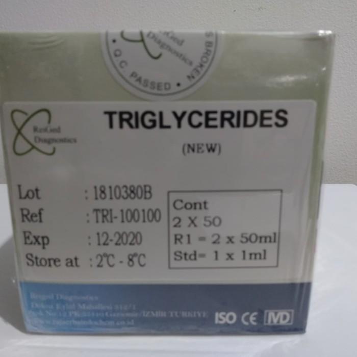 Foto Produk Reagen Triglycerides, Trigliserid 2*50ml dari PT.NAULI SEJAHTERA MEDIK