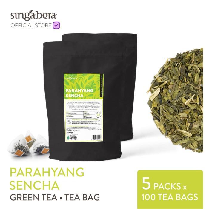 harga Singabera parahyang sencha - green tea / teh hijau jepang - teabag Tokopedia.com