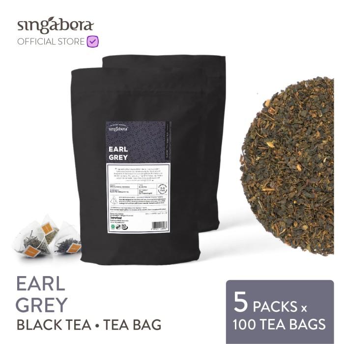 harga Singabera earl grey - black tea / teh hitam - teabag Tokopedia.com