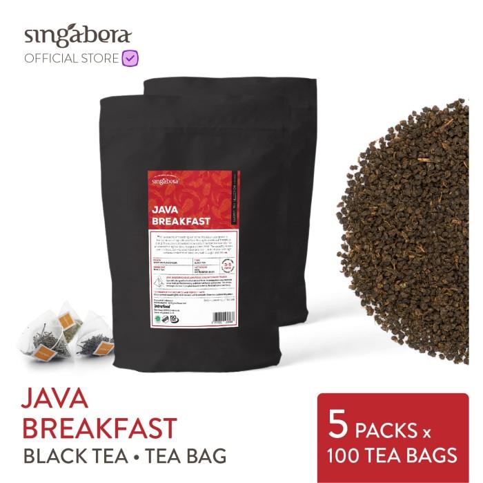 harga Singabera java breakfast - black tea / teh hitam - teabag Tokopedia.com