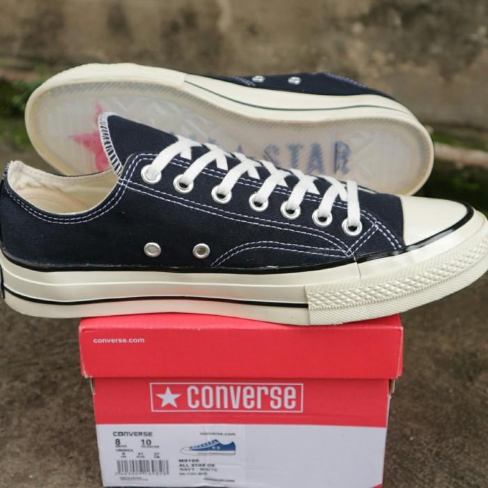 200025c52c44 Jual Sepatu Converse 70s Low Navy All Star Chuck Taylor BNIB Premium ...