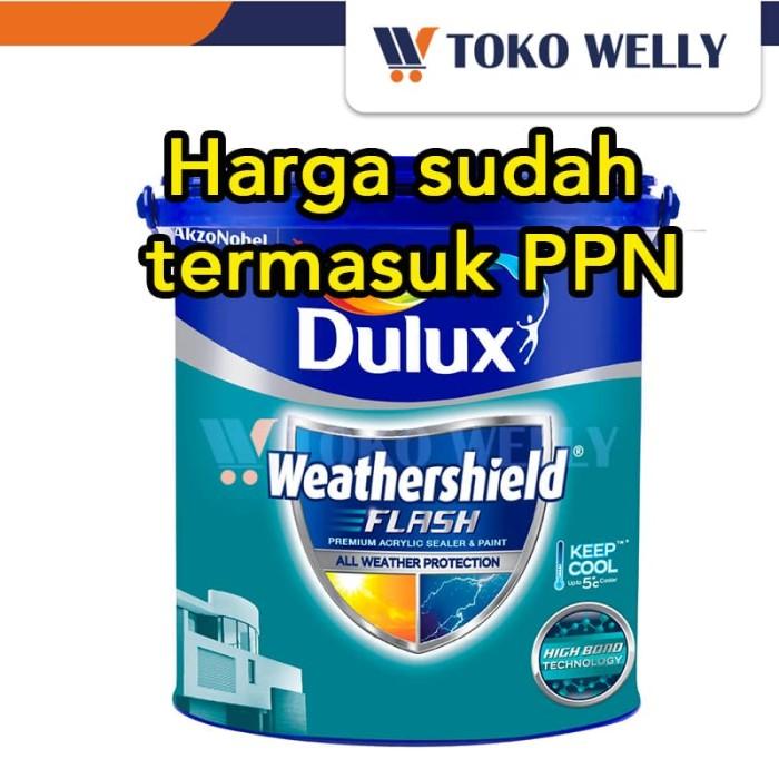 harga Dulux weathershield flash / cat tembok / galon (2.5l) Tokopedia.com