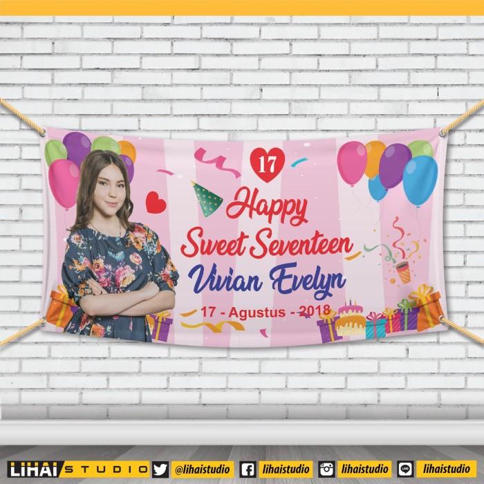Download 1060+ Background Banner Sweet Seventeen HD Gratis
