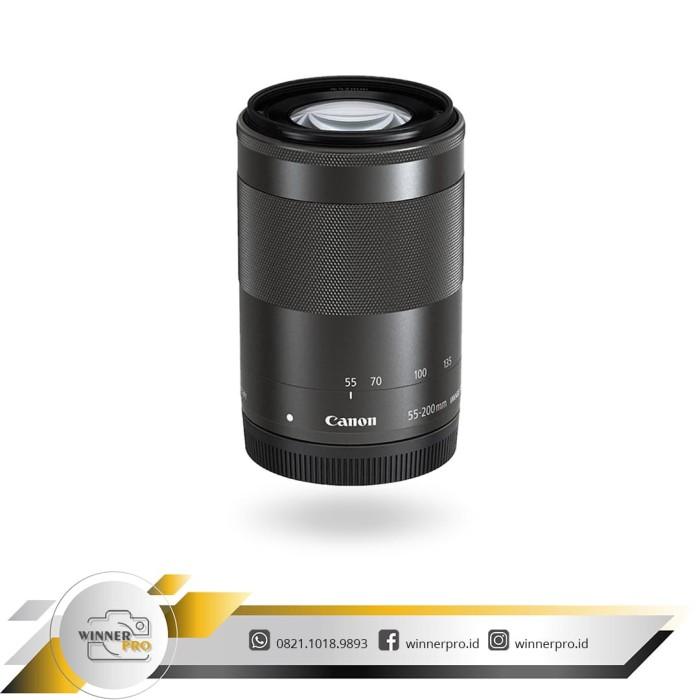 harga Lensa canon 55-200mm is stm mirroles Tokopedia.com