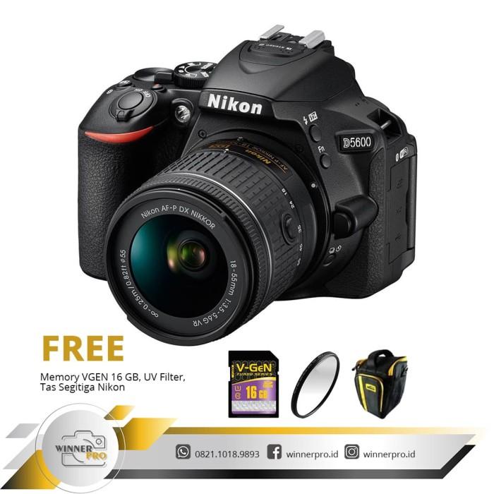 harga Kamera dslr nikon d5600 d 5600 kit af-p 18-55mm Tokopedia.com