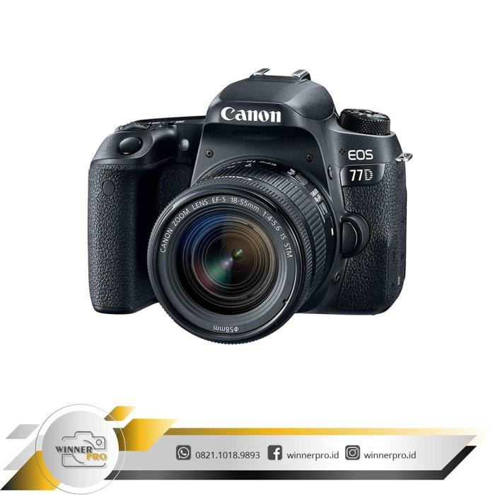 harga Kamera canon 77d kit 18-55 stm (resmi canon datascrip) Tokopedia.com