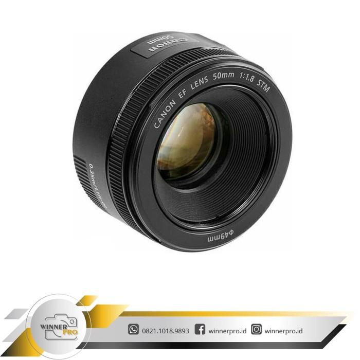 harga Lensa canon 50mm f/1.8 stm Tokopedia.com