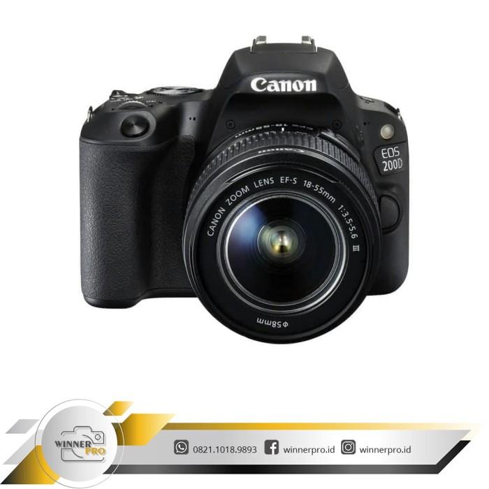 harga Kamera canon eos 200d kit 18-55 mm is iii Tokopedia.com