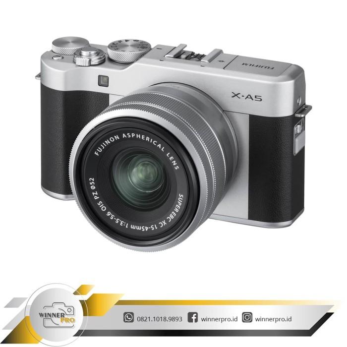 harga Fujifilm x-a5 kit 15-45mm pz - kamera fuji film xa5 + lensa 15-45mm Tokopedia.com