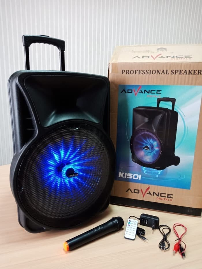 Foto Produk Speaker Meeting Advance K 1501 Bluetooth 15 Inch Suara Mantap dari Blora Store Electrik
