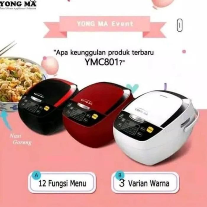 Yong Ma Digital Magic Com MC 3700 2 Liter / Rice Cooker Yongma New