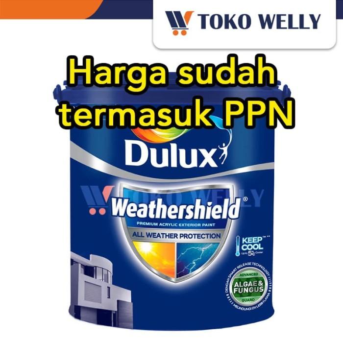 harga Dulux weathershield pro warna standart / cat tembok galon (25l) Tokopedia.com