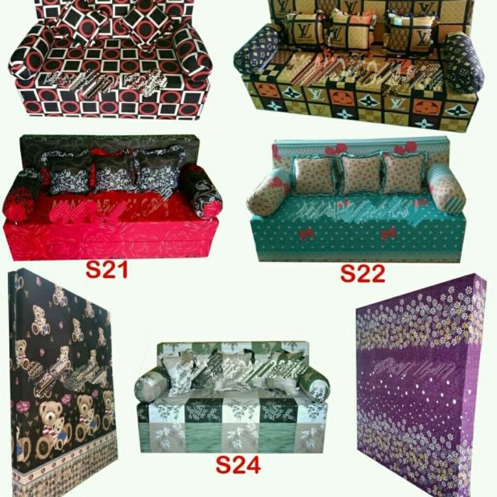 Jual Sofa Bed Inoac Sofa Bed Lipat Uk 200 X 145 X20 Cm