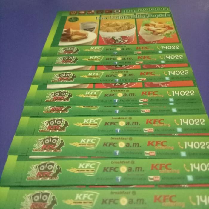 harga Voucher makan kfc murah Tokopedia.com