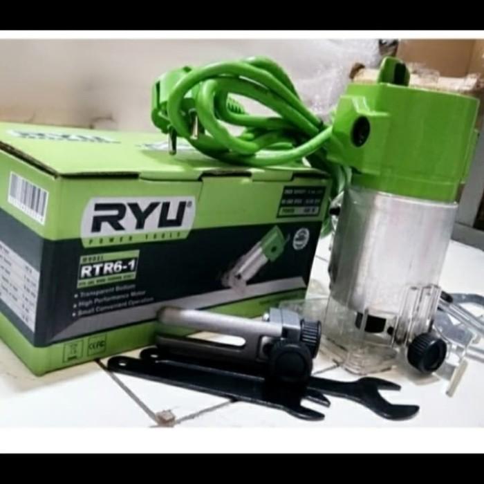Wood Trimmer-Mesin Profil Kayu Mini 6 mm - RTR6-1 Tekiro ryu