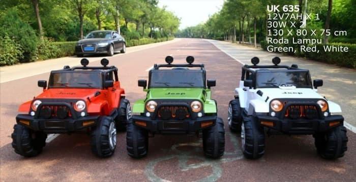 Foto Produk Mainan Mobil Aki Jeep Unikid UK-635 dari BRECHT.ID