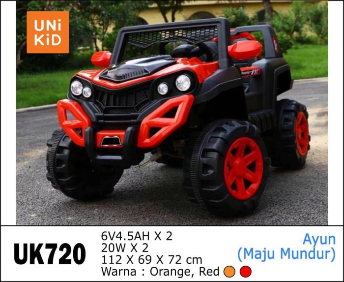 Foto Produk Mainan Mobil Aki Jeep Unikid UK-720 dari BRECHT.ID