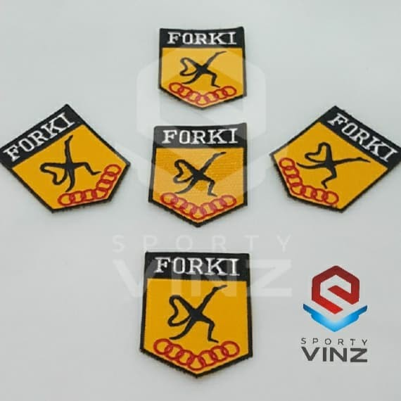 Jual Logo Lambang Badge Emblem Karate Forki