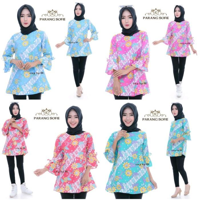 Jual Model Baju Batik Atasan Wanita Kantor Fashion Store Tokopedia