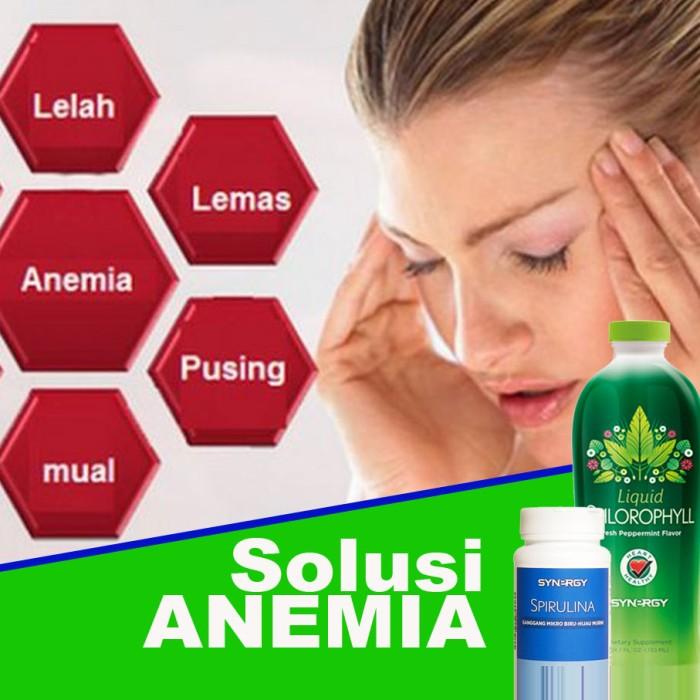 Jual Herbal Suplemen Makanan Minuman Penambah Darah Chlorophyll