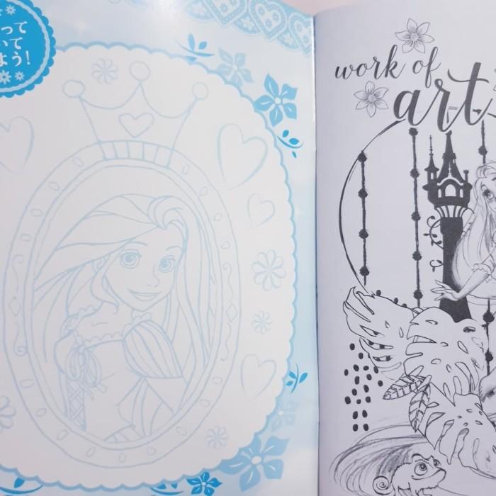 Jual Buku Mewarnai Disney Princess Rapunzel Made In Japan