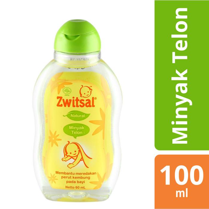 ZWITSAL BABY NATURAL MINYAK TELON 100ML