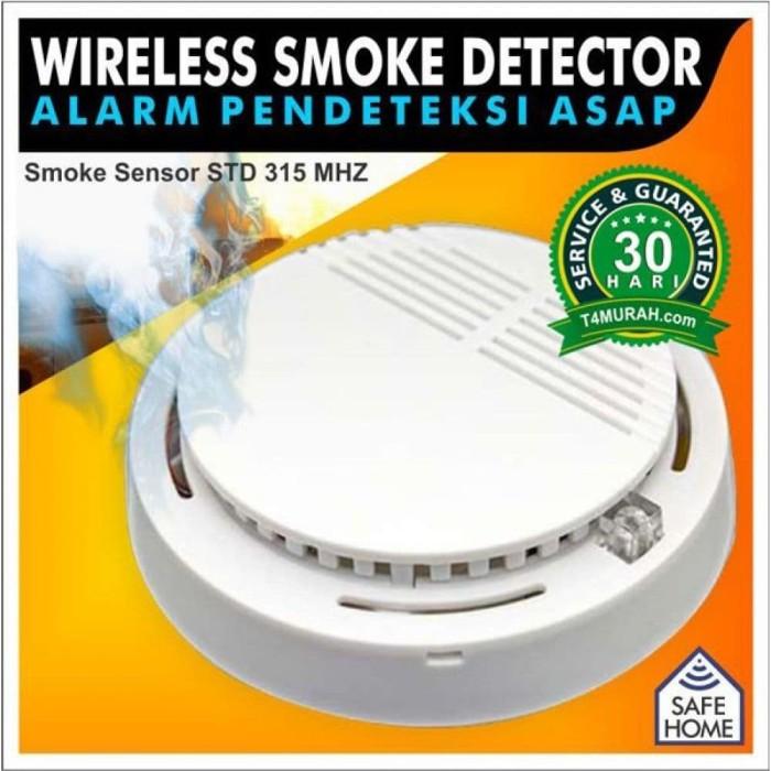harga Sensor smoke detector / detektor asap 315mhz Tokopedia.com