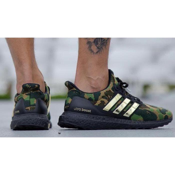 new style c8357 da768 Jual Termurah - Sepatu Pria - Bape X Adidas Ultra Boost 2019 Camo - Murah -  DKI Jakarta - Havanas Store   Tokopedia