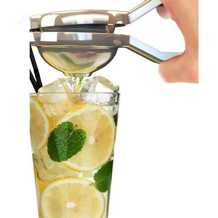 harga Perasan jeruk alat pemeras jeruk lemon stainless steel murah Tokopedia.com