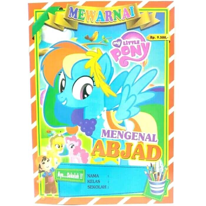 Jual Buku Mewarnai My Little Pony Gambar Sampulrandom Kota Bekasi Partyparty Tokopedia