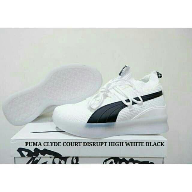 buy popular 56396 27d5f Jual SEPATU BASKET PUMA CLYDE COURT DISRUPT WHITE BLACK - Kab. Kudus -  BIYONSPORT   Tokopedia