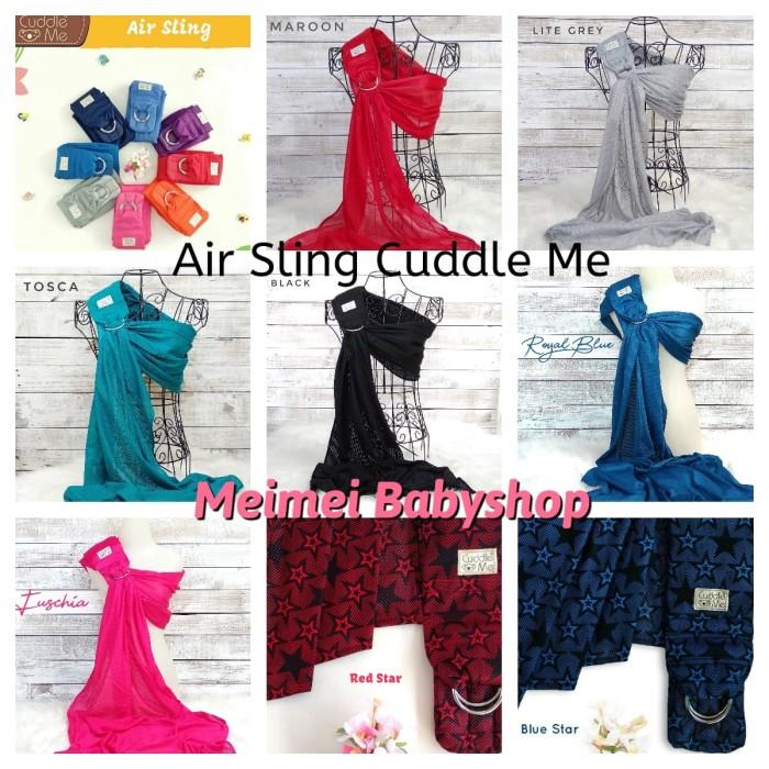 497866170fc Jual Cuddle Me Air Sling   Ring Sling   Gendongan Bayi Jarik Modern ...