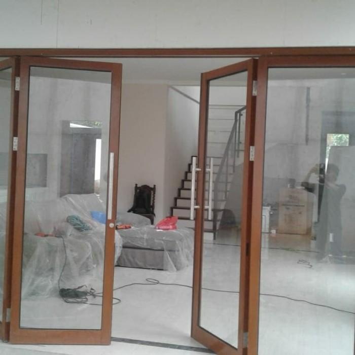 Jual pintu lipat aluminium - Kota Bekasi - CV Alumunindo ...