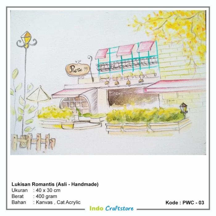 Jual Lukisan Penuh Cinta Kota Denpasar Indo Craft Store