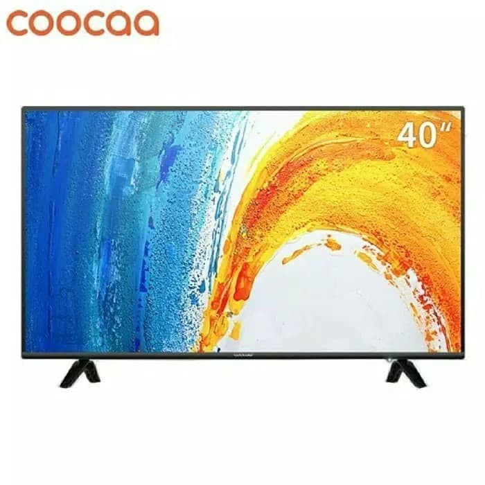 Update Harga TV Coocaa 40 Inch LED FULL HD Hitam Model 40D3A Di