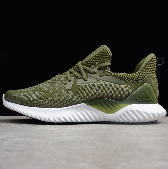 1897c1f78201b Jual Sepatu Adidas Alphabounce Beyond Olive Green Premium Original ...