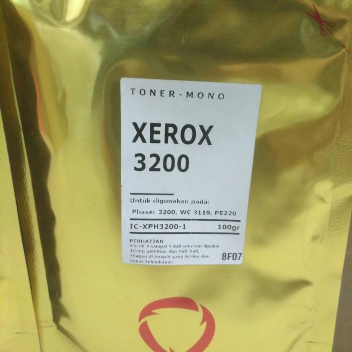 Foto Produk Bubuk Toner Refil Fuji Xerox Phaser 3200 / WC3118 / PE220 - 100gr dari Mitraink
