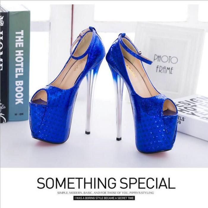 Jual BIG SIZE 43 super High Heels Wedding Party Shoes Women Pumps ... 7e1520993330