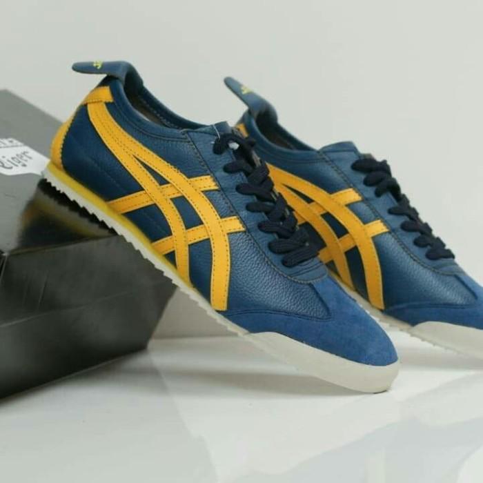 low priced 7d026 913e4 Jual Onitsuka Tiger Mexico 66 Blue Yellow - DKI Jakarta - SAKAY SNEAKERS |  Tokopedia
