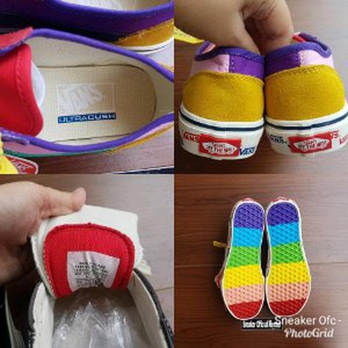 vans style 36 patchwork multi rainbow