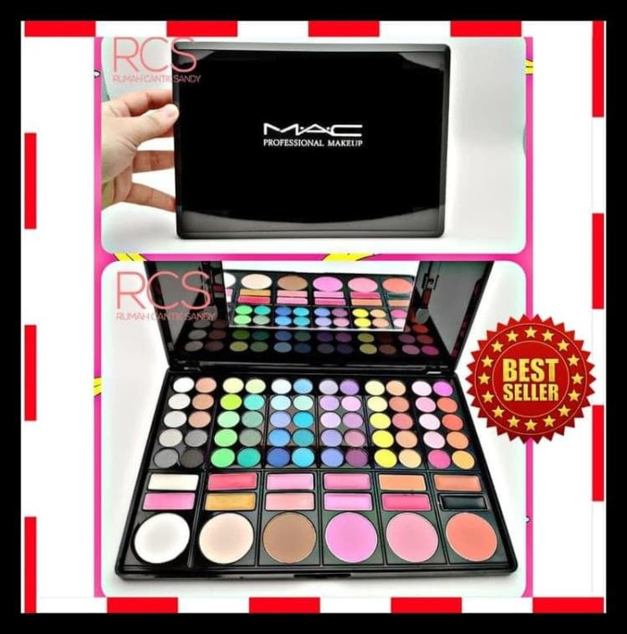 PROMO CANTIK MAKE UP SET PALETTE | EYESHADOW PALETTE 78 WARNA LENGKAP