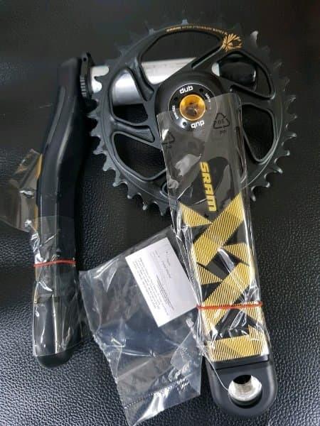SRAM X1 Carbon Crank Arm Protection Set Shield Clear Vinyl Protector